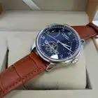 43 мм Parnis Skeleton автоматические механические мужские часы PVD Case мужские запас мощности Tourbillon часы подарок Relogio Masculino 2019