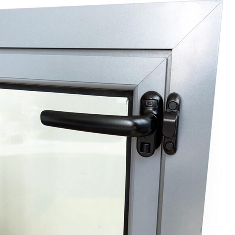 New Hot Universal Window Handle Door Handle Casement Wheel Black Hardware Furniture Supplies Aluminu