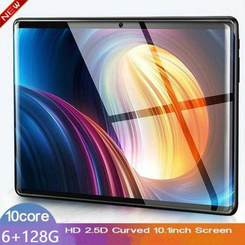2020 High Quality 10.1 Inch 6G+128G WiFi Tablet PC Dual SIM Dual Camera 5.0M  Bluetooth WiFi  4G Call Phone Game Tablet PC