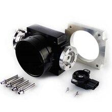 90Mm Reverse Throttle Body with TPS Sensor for Toyota Supra 1JZ Black(Black)