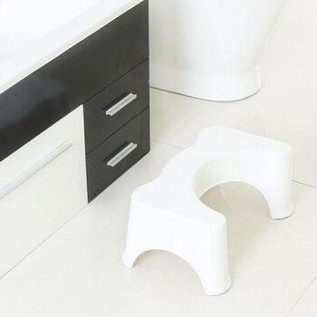 U-شكل القرفصاء كرسي مرحاض المضادة للانزلاق حصيرة مساعد الحمام مساعد وسادة للقدم إلى الإمساك كومة