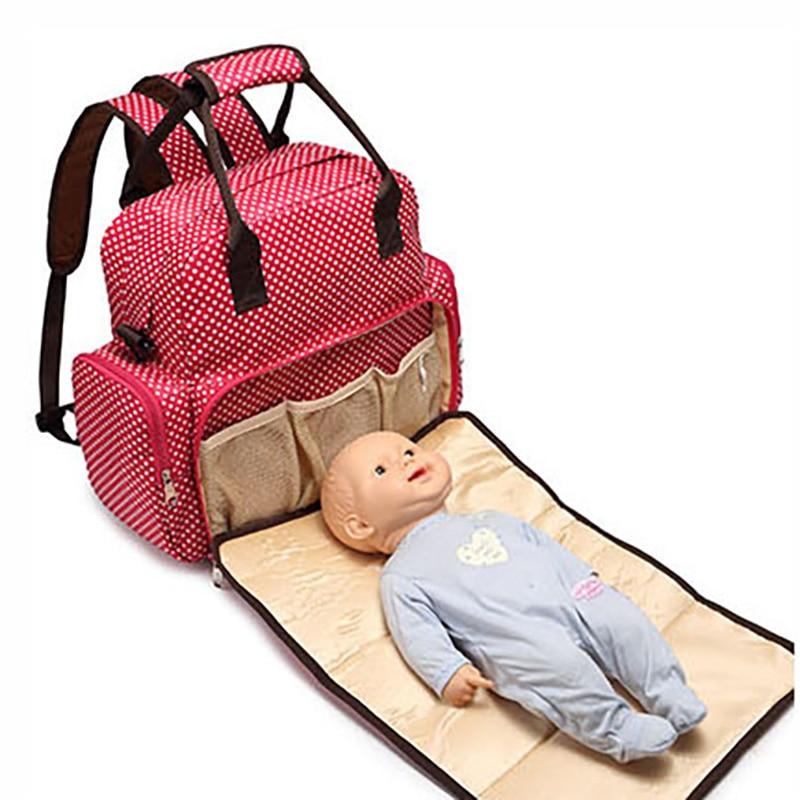 Maternity Bag Large Nappy Bag Backpack Baby Bags For Mom Outdoor With Diaper Mat Nursing Large Handbag BDL002