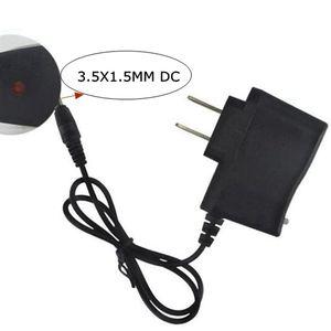 Image 2 - Amerykańska ładowarka EU DC4.2V 3.5mm latarka ładowarka zasilająca 4.2V 500mA AC inteligentny zasilacz 18650 Li ion ładowarka
