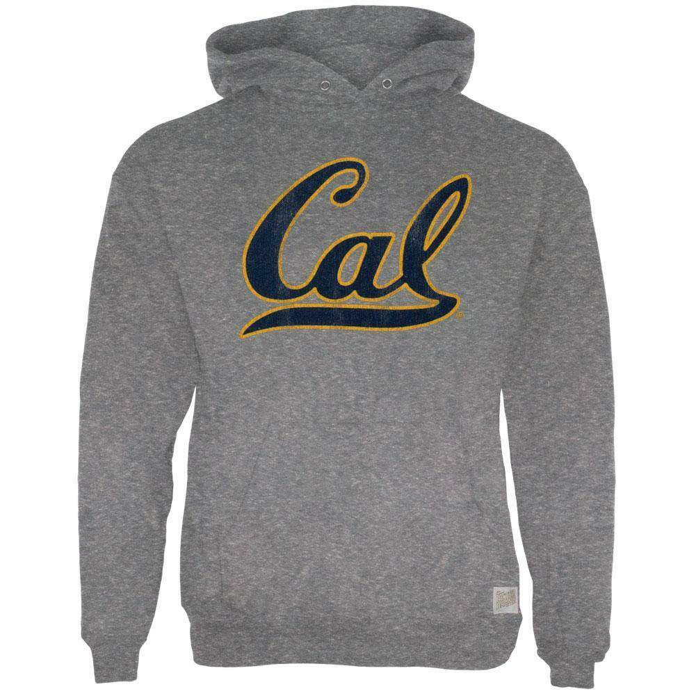 California Bear - Old-fashioned Cal Mark Tri-Mixed Adult Turtleneck  Women Men Clothes Coat Hoodie