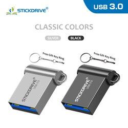 Super Mini USB 3.0 flash drive 64GB 32GB pendrive USB stick 16GB 128GB pen drive memory real capacity usb flash stick waterproof