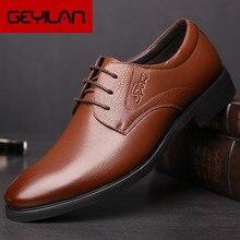 Sapatos de couro para homens sapatos de festa de moda masculina sapatos de couro para homens