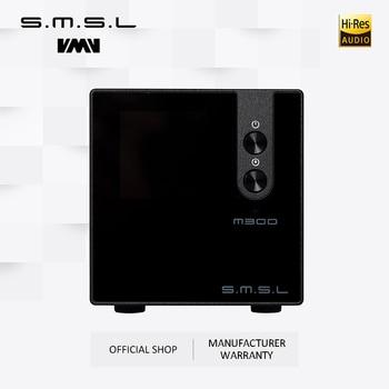 New Version SMSL M300 MKII Audio DAC AK4497 Native DSD512 PCM768kHz USB Optical Coaxial Bluetooth 5.0 Input Balanced Line Output headphone amplifier dac decoder usb input fber output coaxial input vt1630 tpa6120a2 cs4398 chip driving 16 600 ohms