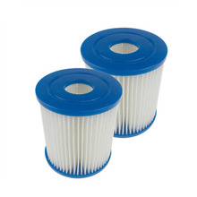 2/4/6 Pcs For Bestway Pump 58381 Replacement Filter Cartridge Swimming Pool Pump Easy Set Up Dropshipping Blue Fit Filter Pumps egoes bestway 58212 swimming pool vacuum set bestway pool cleaner kits
