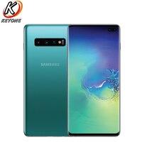 Samsung Galaxy S10+ G975U Verizon Version Mobile Phone 6.4 8GB RAM 128GB ROM Snapdragon 855 Triple Rear Camera S10 plus Phone