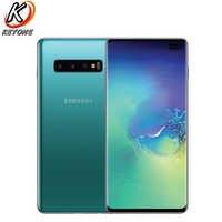 "Samsung Galaxy S10 + G975U versión Verizon teléfono móvil 6,4 ""8 GB RAM 128GB ROM Snapdragon 855 Triple cámara trasera S10 plus teléfono"