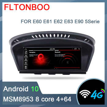 ID7 Android 10 for bmw Series 5 E60, E61, E62, E63,E90 car gps,Wifi,canbus,steering wheel,copy map,8 core,64GB ROM,1280x480 - DISCOUNT ITEM  45 OFF Automobiles & Motorcycles