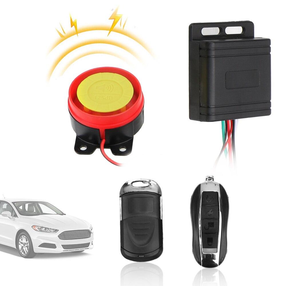 LEEPEE Motorcycle Bike Smart Alarm Anti-theft 12V Security Alarm System Car Keyring Remote Control Key Car Interior Styling
