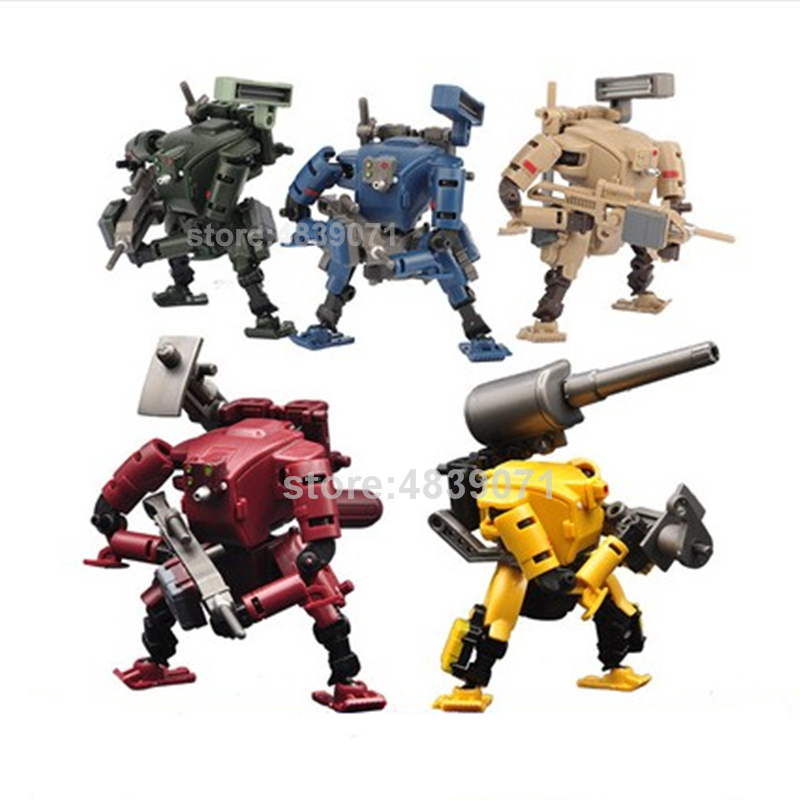 Image 5 - RIHIO Action Figure Toys Multiabyss MM 001 MM001 Power Armor Striker Logistic Set V Link Mecha Series Deformation TransformationAction & Toy Figures   -