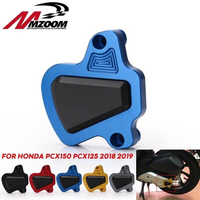 אופנוע הותאם CNC PCX 150 125 מנוע משמר כיסוי כרית מגן עבור הונדה PCX150 PCX125 2018 2019 חלקי