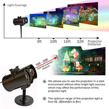Christmas Projector Lights Outdoor Snowfall Animation Music Projection Lamp Waterproof Remote Control Holiday Indoor