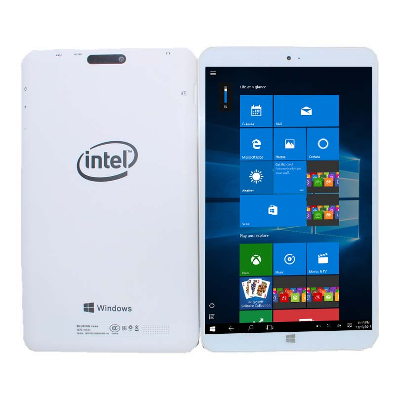 W804 Android 5.1 + Windows 10 Home(Dual System) Tablet PC 8 Inch Quad Core 2GB+32GB 1280*800 IPS Dual cameras Wifi