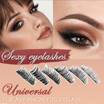 Magnetically Applying Eyelashes 3