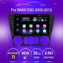 Autoradio Android, 2 go/32 go, Navigation GPS, lecteur multimédia, vidéo, avec commandes au volant, pour voiture BMW série 3, E90, E91, E92, E93, 2005, 2011, 2012, 2013