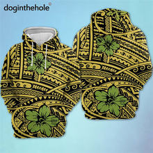 Doginthehole Женский пуловер свитшоты полинезийский гибискус