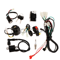 1 Set Motorcycle Motorcross Wiring Harness CDI Relay Kit For 150CC Dirt Pit Bikes|Motorcycle Electronics Accessories| |  -