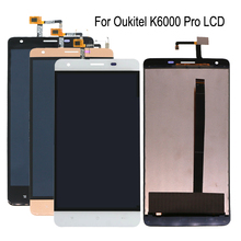 5.5-inch 100% test For Oukitel K6000 Pro LCD display and touch screen digitizer replacement For k6000 pro Repair kit +Free Tools