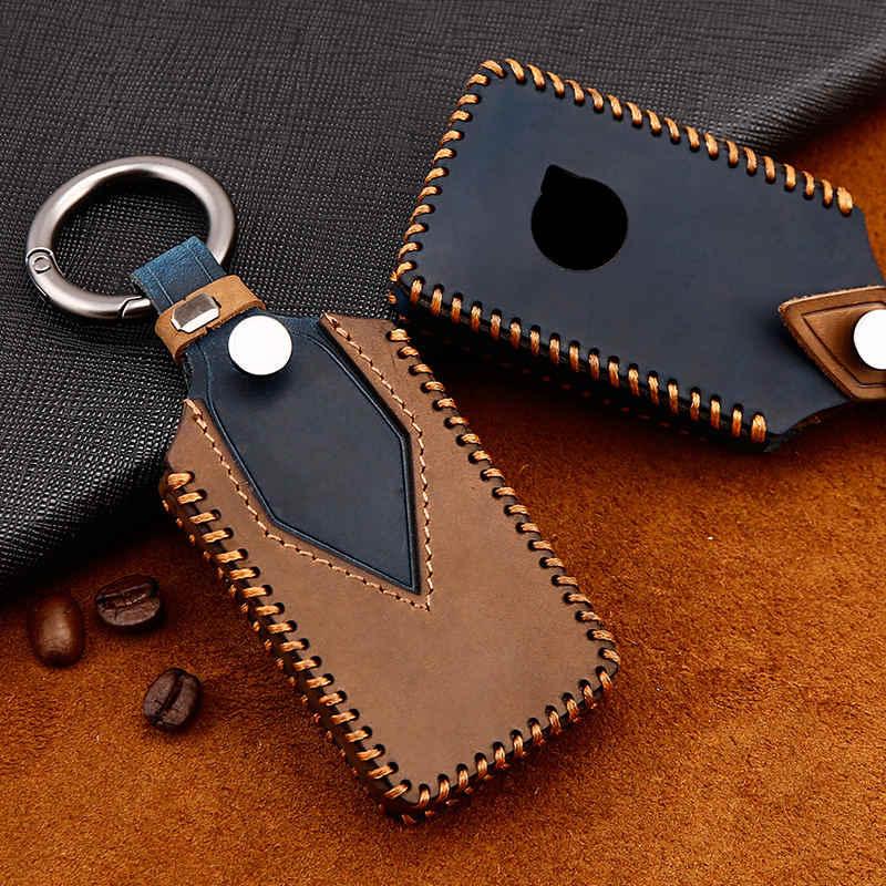 Key Leather Cover Shell VOLVO 2017 2018 2019 S90 V90 XC90 XC60 XC40 Case Fob 16