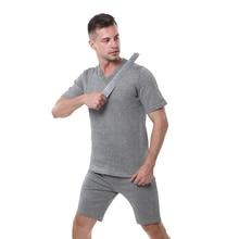 EN388 PE material level 4 cut proof wear slash resistant V T shirt anti cut shirt.
