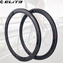ELITE 700c Carbon Road Rim V Brake For Bike Cycling 30mm 35mm 38mm 45mm 47mm 50mm 55mm 60mm 88mm Clincher Tubular Tubeless