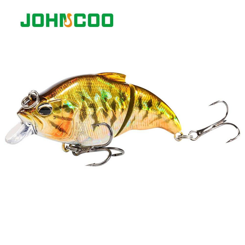 JOHNCOO Sinking Fishing Lure การสั่นสะเทือน-X Vatalion Hard เหยื่อ 72 มม.10.9g Crankbait Wobber การสั่นสะเทือนเหยื่อ BASS PIKE perch ตกปลา