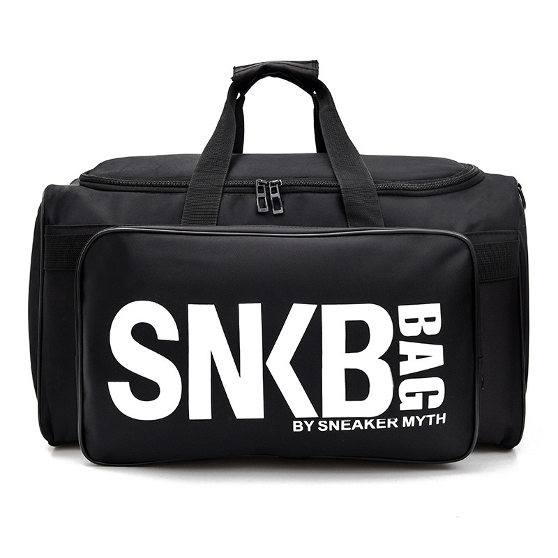 2019 Men Women Gym Bag For Sneaker Shoes Compartment Packing Cube Organizer Waterproof Nylon Sport Travle Duffel Bags Wholesale