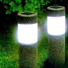 Solar Power Stone Pillar…