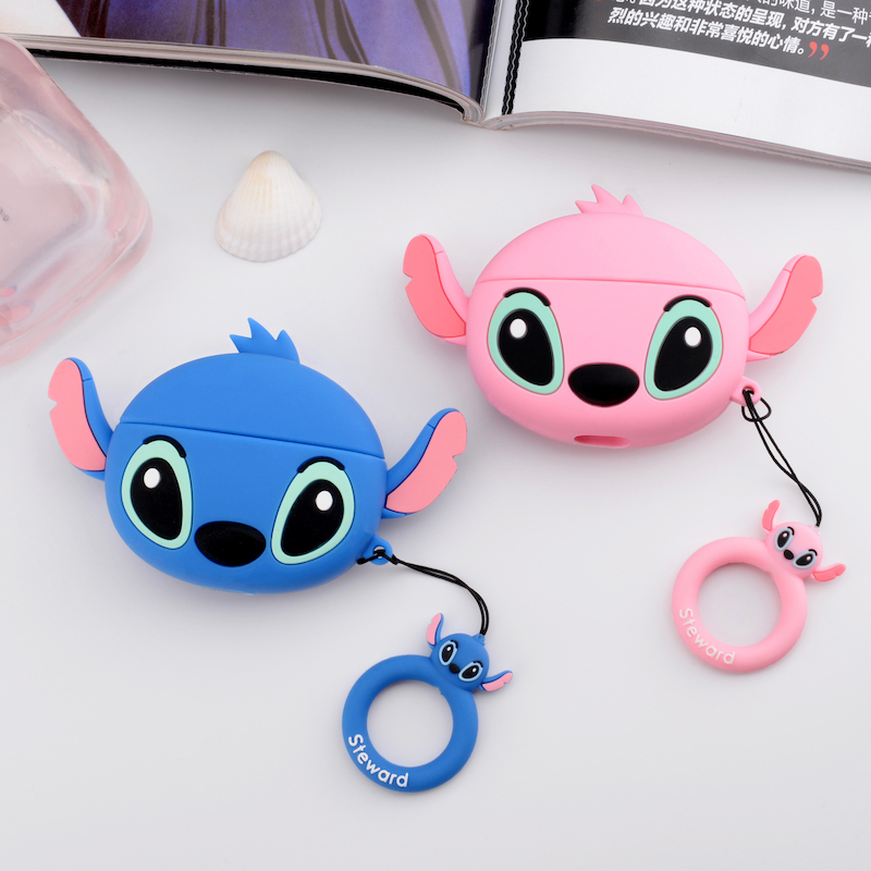 Cute 3D Silicone Case for AirPods Pro 30