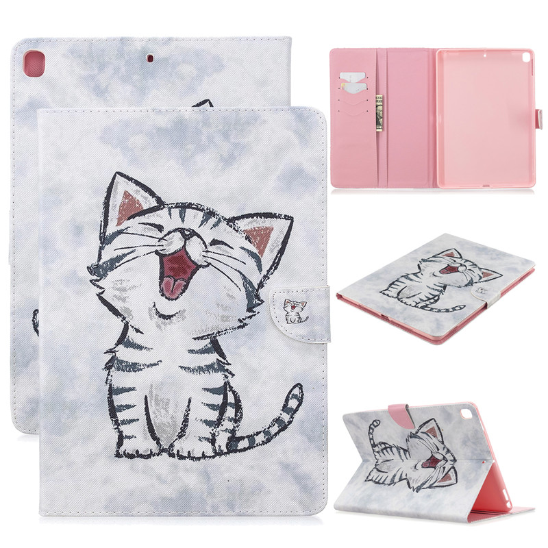 Air Magnetic iPad Tablet For Cat Case Apple 2019 3 5 Pro 10 Cover Unicorn 2017 Cute for