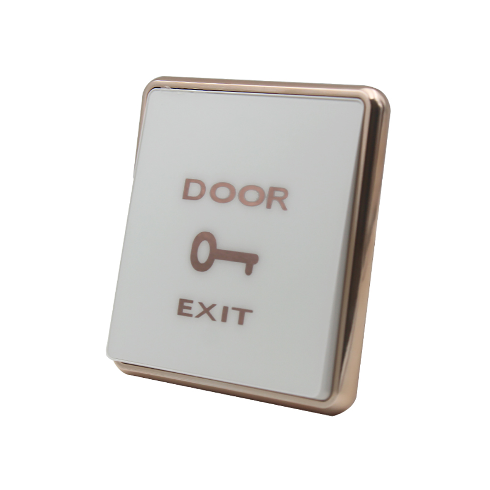 Exit Button Switch Durable Access Door Switch Button Automatically Reset The Normally Open Signal Release Push Button