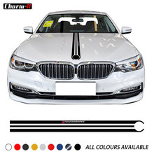 Car Hood Sticker M Performance Engine Cover Bonnet Decal For BMW 5 Series G30