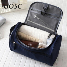 UOSC Makeup Bag Women Bags Men Large Waterproof Travel Cosmetic Bag Organizer Case Necessaries Make Up Wash Toiletry Cheap Bag cheap Oxford 9 84 Casual 5 1cm zipper Solid 5 5cm 0 3kg LXB-37 Hanging cosmetic bag Polyester leather makeup bag Trunk make up bag