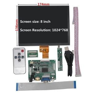 8 inch IPS LCD Display Screen
