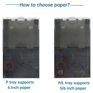 Image 4 - Conjunto de papel de tinta para canon selphy, 6 Polegada cp1300 cp1200 cp1000 cp910 cp900 cp800 cp810 cp820 3 de tinta + 108 folha de papel KP 108IN KP 36IN