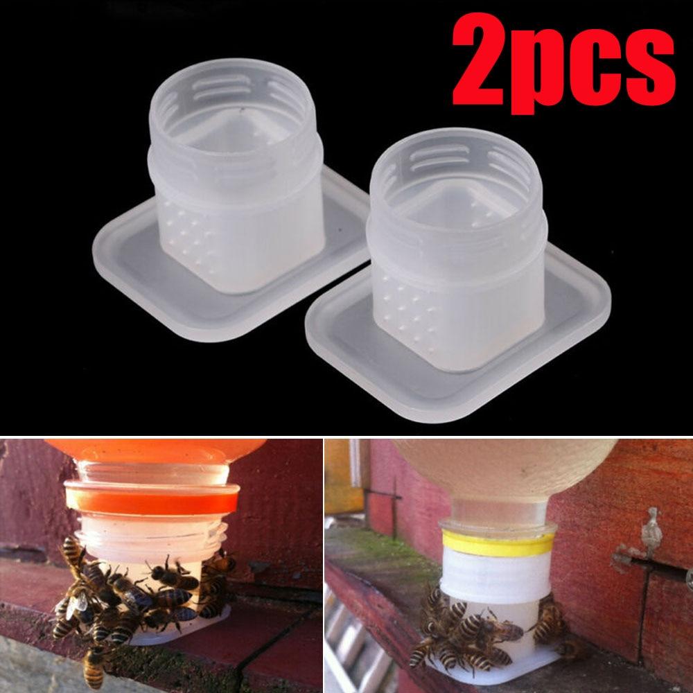 2pcs Bee Drinking Fountain Bee Queen Bee Water feeder Equipment PPUS