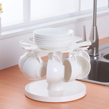 Creative Plastic Cup Rack Drain Storage Kitchen Desktop Household Items
