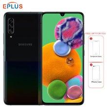 Samsung 5g telefone celular samsung galaxy a90 snapdragon 855 8gb 128gb a9080 6.7