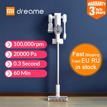 XIAOMI MIJIA Dreame V9 Pro Handheld Vacuum Cleaner For Home Car Wireless 20000Pa cyclone Suction Multi functional Sweeping Brush(China)