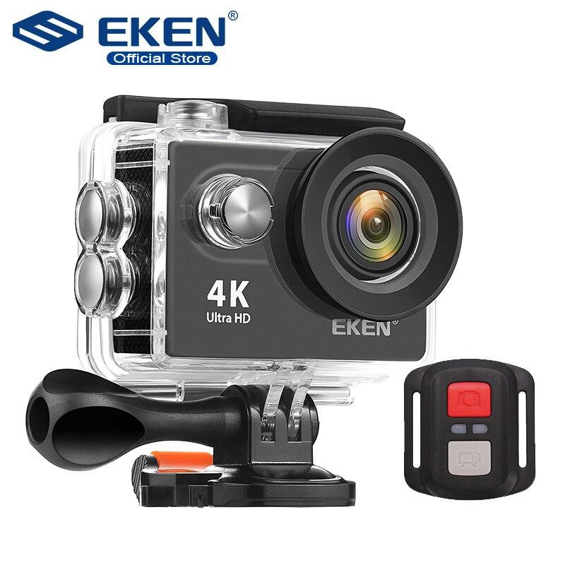 EKEN H9R Ultra HD 4K WiFi caméra d'action avec 2.4G télécommande 2.0 écran 30M étanche sport mini caméra