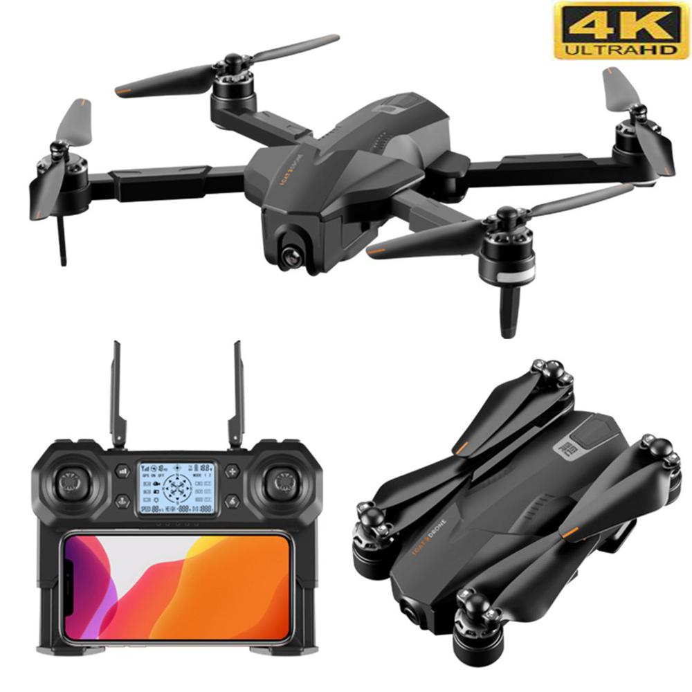 Best GPS 5G WiFi FPV with 4K Camera Optical Flow Switchable Remote Brushless Foldable RC Drone Quadcopter RTF Smart return Drone