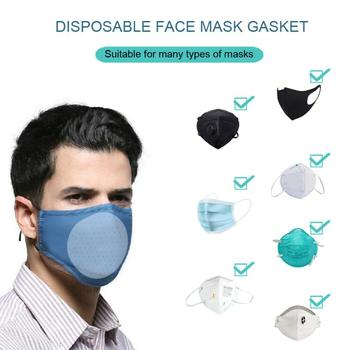 10 Pcs Pm2.5 Kn95 Filter Non-woven  Bacteria Proof Flu Face Masks Carbon Filter Windproof Mouth-muffle Masks Filter Cartridge