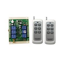 Universal 24V DC 12V 36V 10A 4CH de RF de Control remoto de radio inalámbrico de 433 mhz o 315mhz