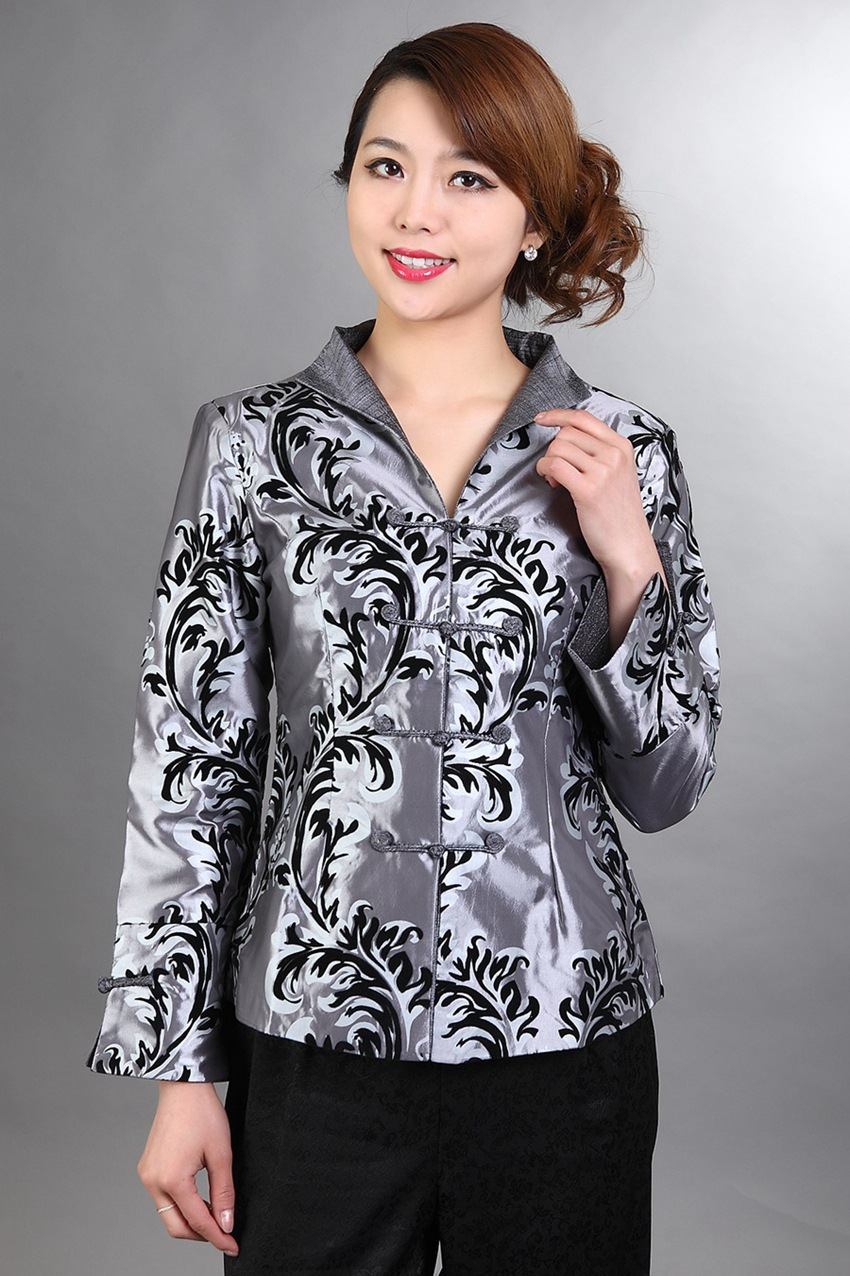 Chinese New Year Festive Brocade Girl'S Long Sleeve Spring And Autumn Phoenix Tail Ethnic-Style Chinese Costume 2306