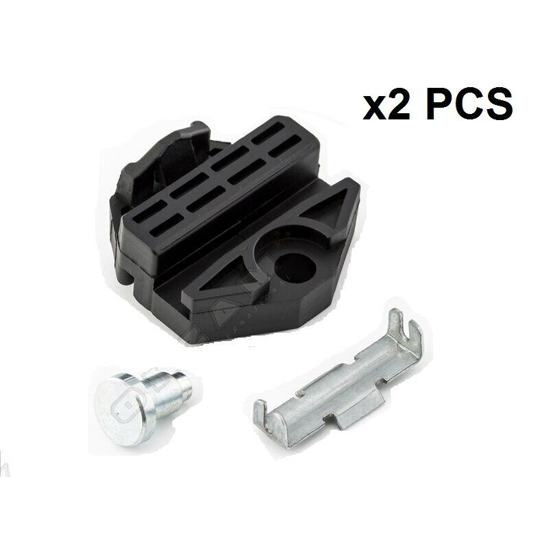 X2 Pcs For OPEL VAUXHALL Astra H Window Regulator Winder Repair Kit | REAR Left Or Right 2004-2010