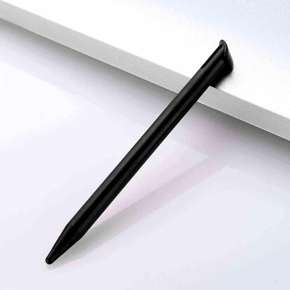 אדום/כחול/שחור קומפקטי מסך מגע פלסטיק PC Stylus עט עבור נין עשר לעשות חדש 3DS XL/ LL פלסטיק חלק מגע