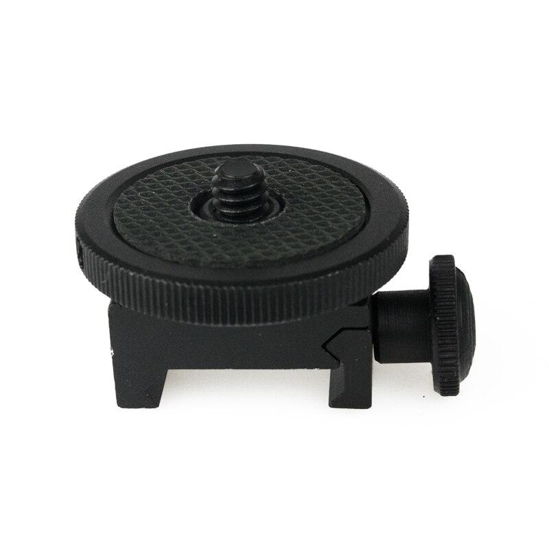 Datyson Gun Adapter For Camera Screw (1/4-Inch) - Camera Gun Mount Adapter Shotgun Hunting